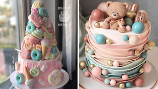 Fun & Creative Cake Decorating Ideas For Party   So Yummy Cake Recipes