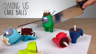 How to make 'Among Us' inspired cake balls