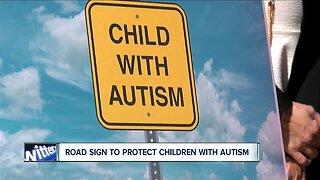 DOT approves road sign to protect children with Autism