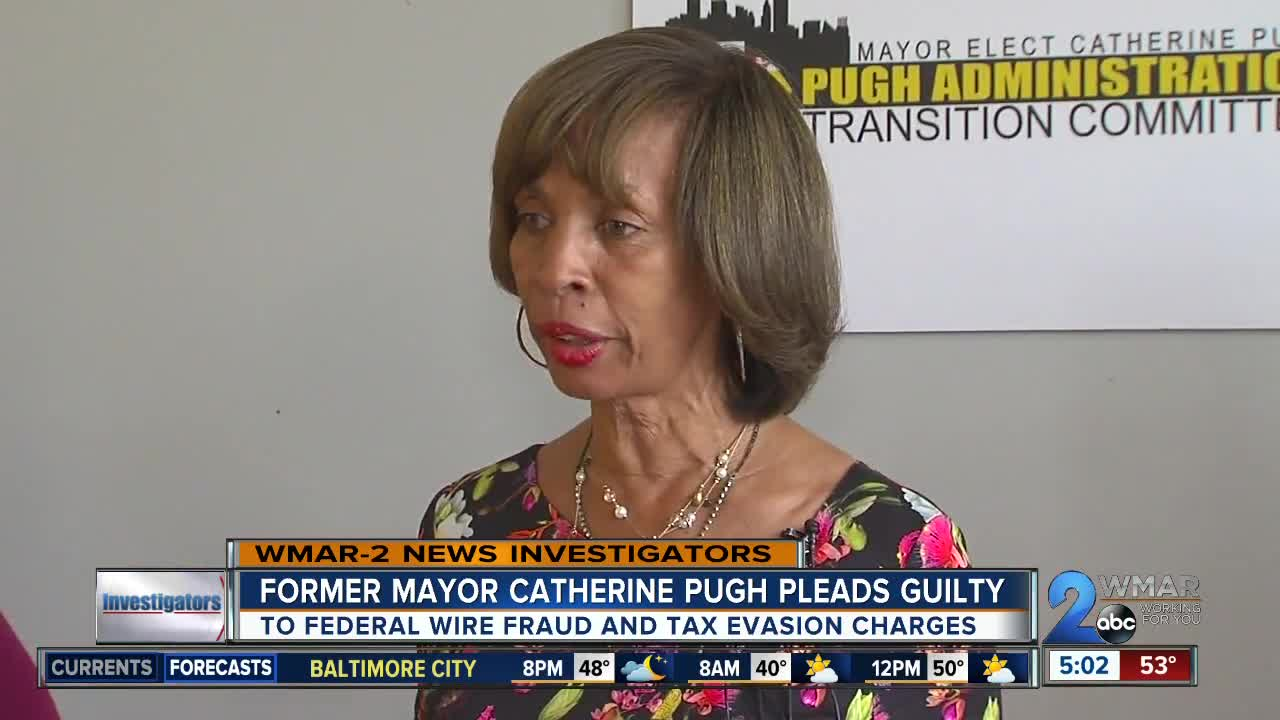 Pugh pleads guilty to federal wire fraud and tax evasion charges