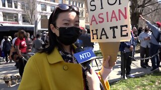 Groups Rally to End Anti-Asian Violence