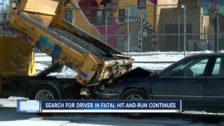 Search for driver in fatal hit-and-run continues