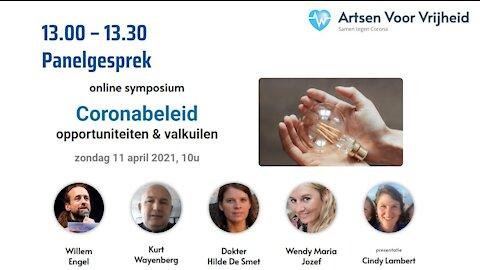 Panelgesprek - Symposium Artsen Voor Vrijheid 11 april 2020