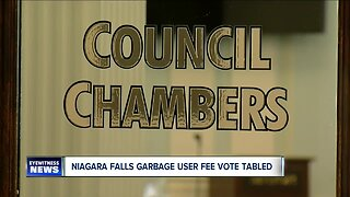 Niagara Falls garbage user fee vote tabled
