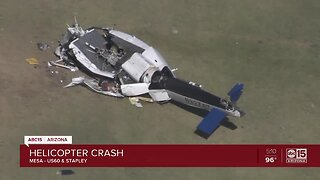 Helicopter crash in Mesa