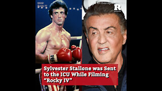 """Sylvester Stallone was Sent to the ICU While Filming """"Rocky IV"""""""