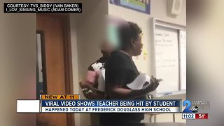 VIDEO: Baltimore teacher punched in face by student