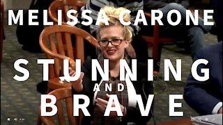 Dominion Whistleblower Melissa Carone is Stunning and Brave