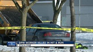 Milwaukee DPW worker killed while filling potholes