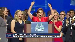 Gretchen Whitmer wins Democratic nomination for Michigan governor