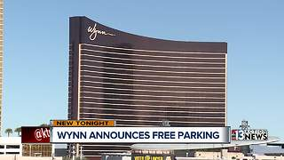 Wynn Las Vegas announces free parking for patrons