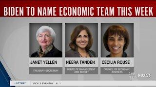 Biden expected to name economic team
