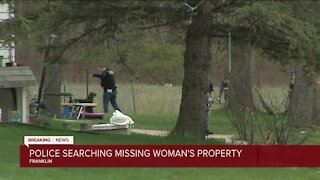 Franklin police search missing woman's property