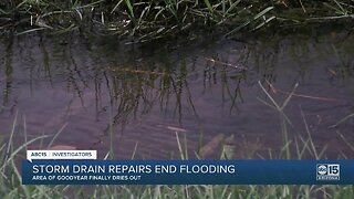 Goodyear repairs pipeline that caused 'wasted water' complaints