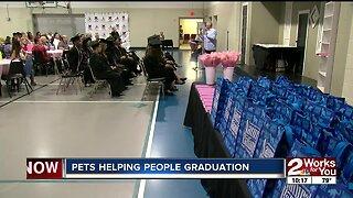 Pets helping people graduate