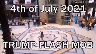 TRUMP FLASH MOB 4th of July 2021