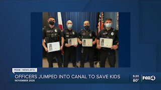 Four Cape Coral Officer Honored