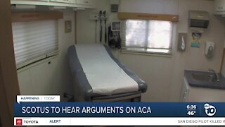 Supreme Court to hear arguments on ACA