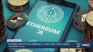 Cryptocurrency hits record high