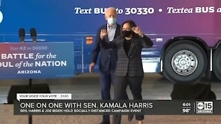 One on one with Sen. Kamala Harris
