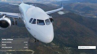 MS Flight Simulator 2020 - Manual Night Landing at Heathrow EGLL