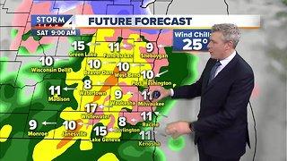 Winter weather advisory starts Saturday morning