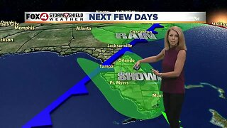 Weekend Showers and Storms Possible
