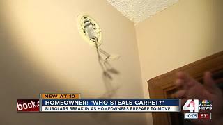 Burglars hit recently-sold Blue Springs home