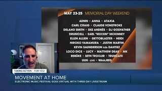 Movement Music Festival goes virtual with three-day livestream