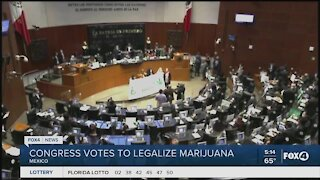 Congress votes to legalize marijuana in Mexico