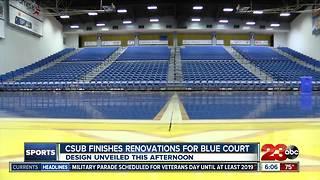 CSUB unveiling new basketball court