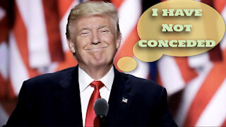 Trump says he has not conceded