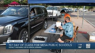 First day of school for Mesa Public Schools