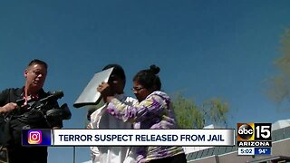 Fountain Hills teen charged with terrorism released from jail prior to trial
