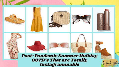 The Teelie Blog | Post-Pandemic Summer Holiday OOTD's That are Totally Instagrammable