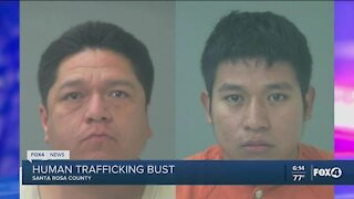 Human trafficking bust