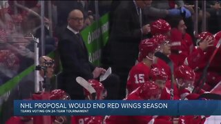 NHL proposal would end Red Wings season