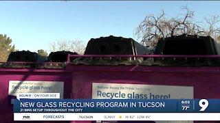 Glass recycling program bins save Tucson money