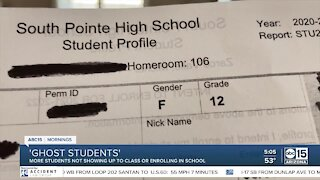 School officials working to bring 'ghost students' back to class