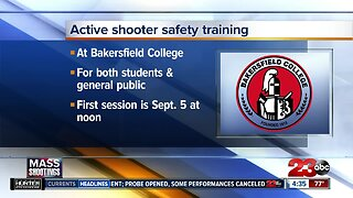 Bakersfield College to hold active shooter response training on campus