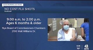 Free flu shots in Pahrump