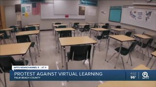 Palm Beach County superintendent recommends distance learning