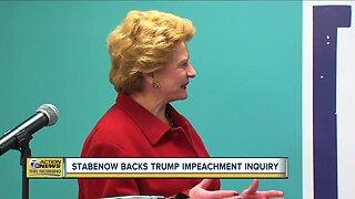 Stabenow backs Trump impeachment inquiry