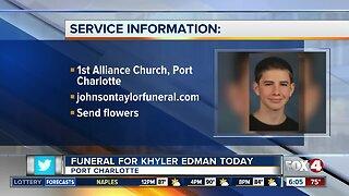 Funeral planned for Khyler Edman Thursday
