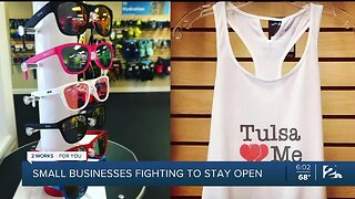 Small businesses fighting to stay open