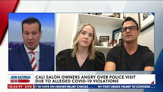CALIFORNIA SALON OWNERS 'TARGETED' OVER ALLEGED COVID-19 VIOLATIONS