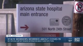State workers worried about COVID-19