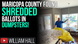 SHREDDED Ballots FOUND In Maricopa County DUMPSTERS!