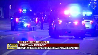 Man dead after shootout with WSU police
