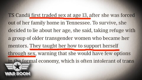 New York Times Celebrates Pedophilia And Sex Enslavement Of 13 Year Old